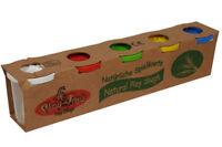 natural Dough play Children Dough Coloured Plasticine Toys 5 Large Tubs Fun