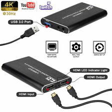 HDMI Video Capture Card 4K Screen Record USB3.0 1080P 60FPS FHD Game Capture -Au