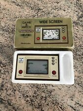 BOXED 1981 NINTENDO GAME & WATCH PARACHUTE PR-21 WIDE SCREEN HANDHELD MINT GOLD