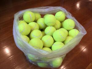 24x Pressureless Pressure Less Tennis Balls Stardard Size & Weight in Yellow