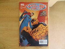 2003 Marvel Comics Fantastic Four # 66 Signed Mark Waid, With Poa