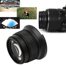 0.35X52MM Super HD Wide Angle Fisheye Lens With Macro for Canon Camera BP