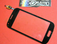 VETRO+TOUCH SCREEN per SAMSUNG GALAXY TREND PLUS GT S7580 VETRINO DISPLAY NERO