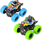 M Zimoon Monster Inertia Truck, 2 Pack Off-Road Vehicle Toy Four-Wheel Race Cars
