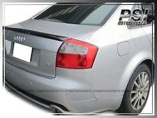 2001-2005 Carbon Fiber S Type Trunk Spoiler Lip fit AUDI A4 B6 Quattro S4 RS4