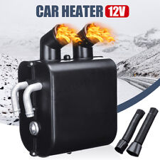 Universal 12V Car Heater Water Heating Hot Fan Metal Defroster Demister Outdoor