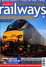 MODERN RAILWAYS 798 MAR 2015 Dawlish,Harbury,Class 68,Hull Selby,Wrexham,Europe