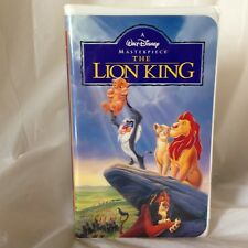 The Lion King (VHS, 1995) Disney Masterpiece Collection