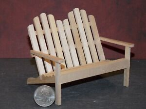 Dollhouse Miniature Outdoor Chair Porch Deck 1:12 inch scale P76 Dollys Gallery