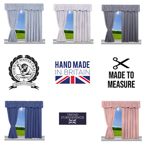 CARAVAN CURTAINS BASKET WEAVE FULLY LINED READY MADE QUALITY MADE TO MEASURE