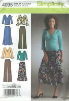 Simplicity 4095 Misses' Pants, Skirt and Top 10 to 18   Sewing Pattern
