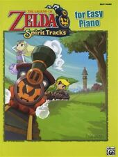 The Legend of Zelda Spirit Tracks for Easy Piano Sheet Music Book