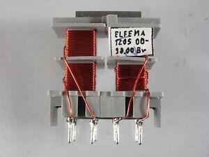Übertrager 20 kHz 4 Wicklungen 4 x 0,2 mH Cu Lackdraht Durchm 0,5 mm TRANSFORMER