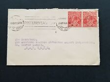 Australia 1925 cover to USA from Adelaide