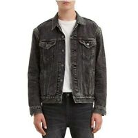LEVI'S The Trucker Zip Off Sleeves Denim Jacket Jean Faded Men's size L NWT NEW