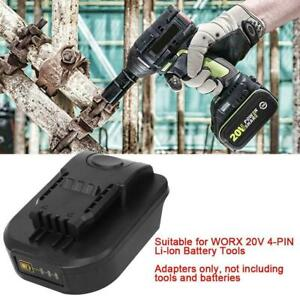 Power Tool Battery Adaper for Makita 18V Convert for WO.RX 20V 4-Pin Power Tool