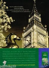 Publicité advertising 1997 Guide Vert Michelin .. Londres Big Ben