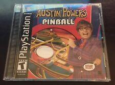 Austin Powers Pinball (Sony PlayStation 1, 2002) PS1 Game COMPLETE with Manual