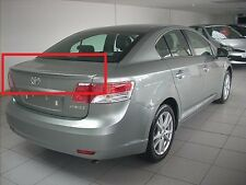 TOYOTA AVENSIS SALOON / SEDAN FROM 2009 REAR BOOT TRUNK SPOILER NEW