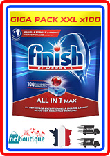 Finish Pastilles Lave Vaisselle Powerball All in One Max 100 Tablettes Reduction
