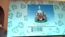 Charming Tails Our Love Burns Bright Item# 93/205 Se Nib