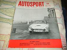 DAN GURNEY PROFILE 1959 CHEVROLET CORVETTE FERRARI TR + AUTO UNION 1000 COVER