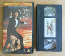 The James Bond 007 Collection (1999) - For Your Eyes Only - VHS - PAL