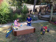 Composite Timber Modular Raised Garden Bed, Sand Pit, Vegetable Planter Box