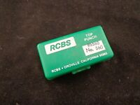 RCBS LUBE A MATIC 560 CAST LEAD BULLET LUBE SIZER TOP PUNCH ALSO FITS LYMAN 450