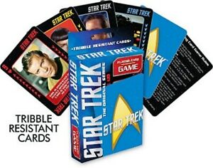 Star Trek The Original Series Photo Illustrated Poker Size Playing Card Game NEW