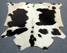 "New Cowhide Rugs Area Cow Skin Leather Cow hide ULG 5052 (54"" X 56"")"