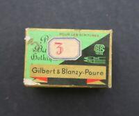 Boite plume BLANZY POURE & Cie RONDE BATARDE GOTHIQUE 232 pen nibs box pennini