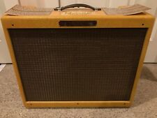 FENDER CUSTOM 57 TWIN TWEED Guitar Amp Very Clean Condition Vintage Vacuum Tubes