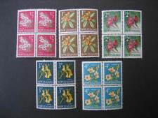 Nueva Zelanda 1960 pictorials el original bajo los valores en bloque 4 NHM SG781/6ex 784