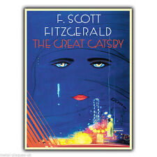 METAL SIGN WALL PLAQUE THE GREAT GATSBY Book poster art print vintage picture