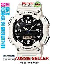 CASIO WATCH TOUGH SOLAR AQ-S810WC-7AV AQS810 AQS810W AQS810WC WARANTY