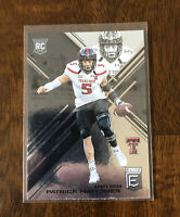 2017 Donruss Elite Draft Picks Patrick Mahomes II Rookie Card RC #145 🔥🔥