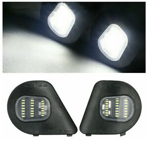 * 24LED R&L Mirror Puddle Lights 5W for 2010-2019 Dodge Ram 1500 2500 3500 4500