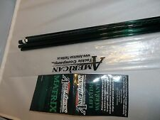 American Tackle Matrix 9' 7 wt 3 pc green fly rod blank
