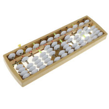 7 Ziffern braun Perlen japanische Soroban Arithmetik Abacus Math lernen
