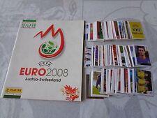 ALBUM FIGURINE PANINI UEFA EURO 2008 COMPLETO FIGURINE ANCORA DA ATTACCARE