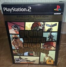 Grand Theft Auto: San Andreas Special Edition PS2 BRAND NEW FACTORY SEALED! RARE