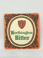 Vintage Worthington Bitter Beer Coaster Bar Decoration Man Cave