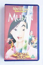 *CASES ONLY* Walt Disnep VHS Video Cassette Case Lilo & Stitch & Mulan Classics