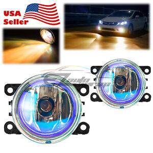 For 13-15 Honda CR-Z Pair of Neo Lens Lamp Fog Light OEM Quality Replacement F6
