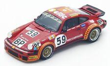 Spark S4750 -  PORSCHE 934 n°59 Le Mans 1977 F. Servanin - L. Ferrier  1/43