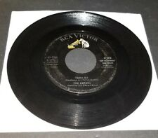 "THE BROWNS ""THE OLD LAMPLIGHTER / TEEN-EX"" ORIGINAL 45 RCA VICTOR"
