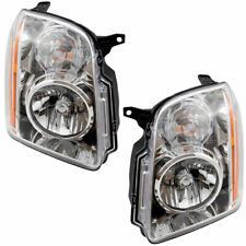 For Gmc Yukon 2007 2008 2009 2010 2011 Headlight Right & Left Set Pair (Fits: Gmc)