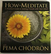 How to Meditate with Pema Chödrön Practical Guide Making Friends with your Mind_
