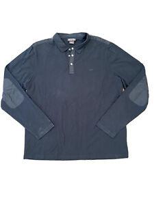 Michael Kors Mens Long Sleeve Polo Large